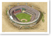 Candlestick Park (late) - San Francisco Giants  Print