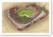 Busch Stadium - St. Louis Cardinals Print