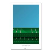 Oakland A's - Oakland Coliseum Art Poster
