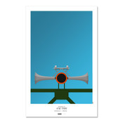 San Francisco Giants - AT&T Park (horn) Art Poster