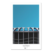 St. Louis Cardinals - Old Busch Stadium Art Poster