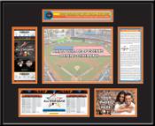 2017 MLB All-Star Game Ticket Frame - Miami Marlins