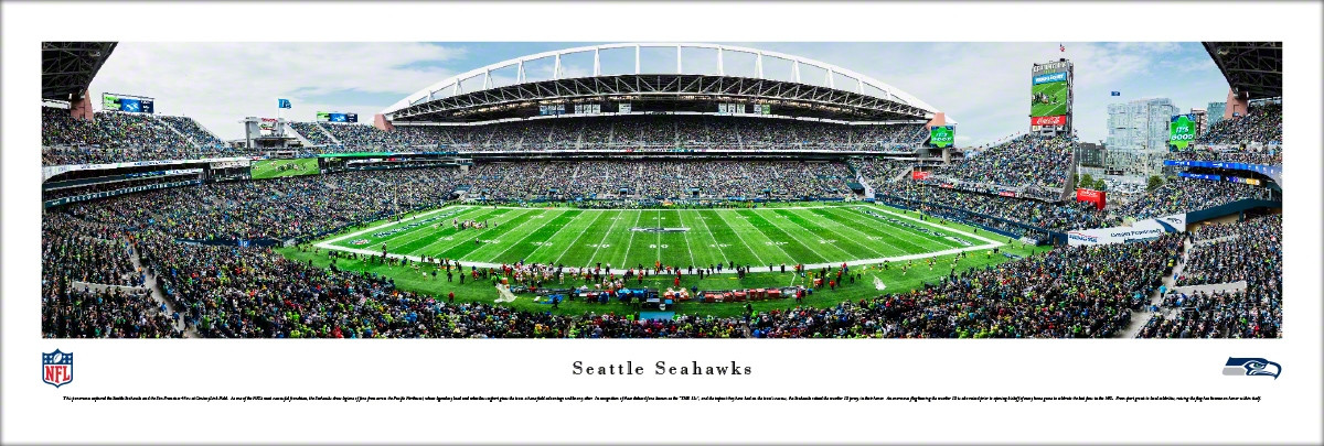 CenturyLink Field, Seattle Seahawks football stadium - Stadiums of on