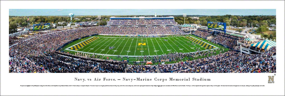 Memorial Stadium Facts Figures Pictures And More Of The Navy