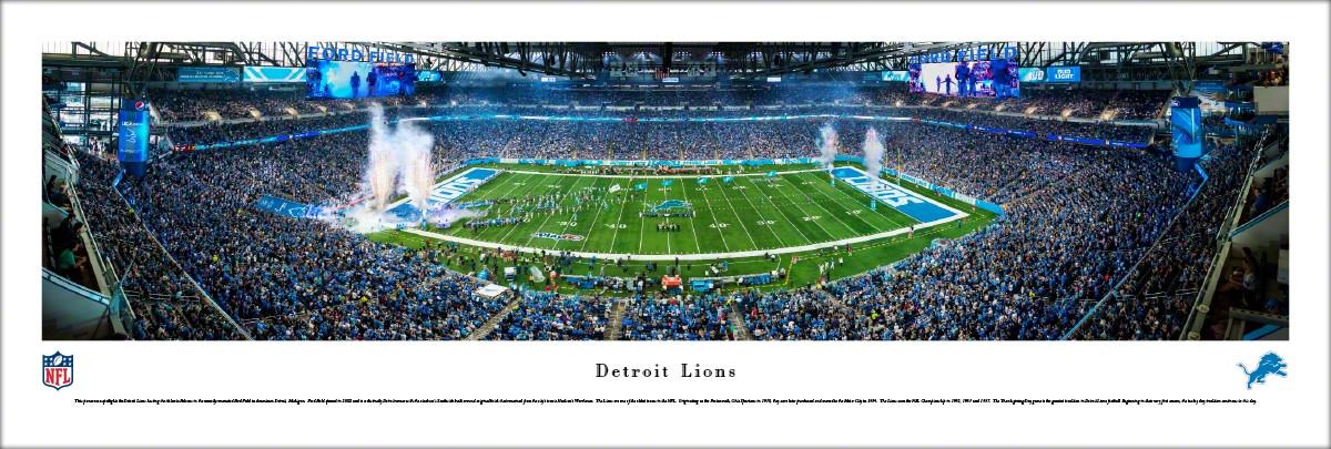 Ford Field Detroit Lions Football Stadium Stadiums Of Pro Football