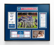2017 NLCS Champions Ticket Frame - Los Angeles Dodgers