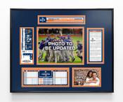 2017 ALCS Champions Ticket Frame - Houston Astros
