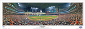 Houston Astros at Minute Maid Park Panoramic Framed Poster