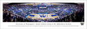 Washington vs Gonzaga at Alaska Airlines Arena Panoramic Poster