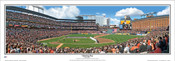 """Baltimore Orioles """"Opening Day"""" Camden Yards Panoramic Framed Poster"""