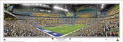 """Super Bowl XLVI"" New York Giants Panoramic Poster"