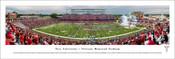 Troy Trojans at Veterans Memorial Stadium Panorama Poster