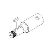 White 500 Series Shaft Assembly 500011300