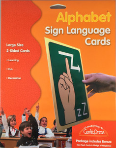 Alphabet and Number Sign Language Cards