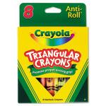 Anti-Roll Crayons