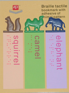 Braille Tactile Bookmarks