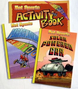 Hot Sports Readers - 12 Book Set plus Activity Book