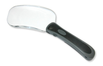 Rectangle Lighted RimFree Magnifier