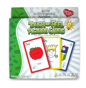 SENSEsational Alphabet Touch & Feel Picture Cards