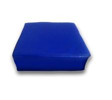"""Blue Square Measures: 10"""" x 10"""" x 3"""""""