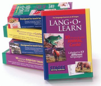 Lang-O-Learn Flashcards (30-Card Set)