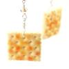 saltine earrings by inedible jewelry