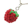 raspberry necklace by inedible jewelry