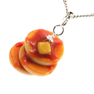 pancakes necklace
