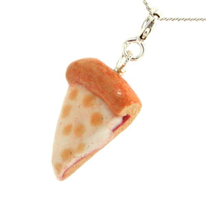 cheese pizza necklace