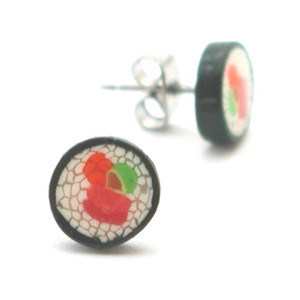 California roll studs by inedible jewelry