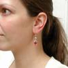 double sushi earrings by inedible jewelry