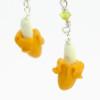 banana earrings by inedible jewelry