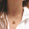 burger necklace by inedible jewelry