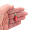 sriracha necklace by inedible jewelry