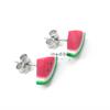 watermelon studs by inedible jewelry