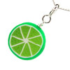 lime necklace by inedible jewelry