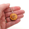 apple pi pie necklace by inedible jewelry
