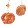 pretzel earrings by inedible jewelry