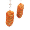 challah earrings by inedible jewelry