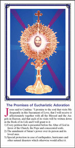 Promises for Adoration - English - Pack of 25 Holy Cards