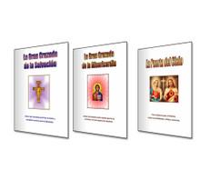 SET II Enseñanzas Formativas - Tres Libros - Español - El juego incluye: La Puerta Del Cielo, La Gran Cruzada Del Misericordia y La Gran Crusada Del Salvacion