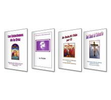 Venta Especial De Los 4 Libros - La Serie de la Pasión - Los Libros Son: La Pasion, Las Estaciones De La Cruz, Del Sinai Al Calvario y He Dado Mi Vida Por Ti