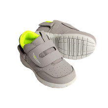 Hatchbacks Eclipse Kids Shoe : Gray /Lime Green: Young Kids sizes 9c-3k