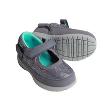 Hatchbacks Ava Girls Shoe :  Navy/Silver/Teal: Clearance sizes 5c-3k