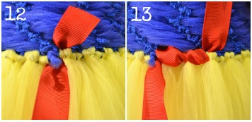 diy snow white tutu dress & Snow White Costume Tutorial - The Hair Bow Company