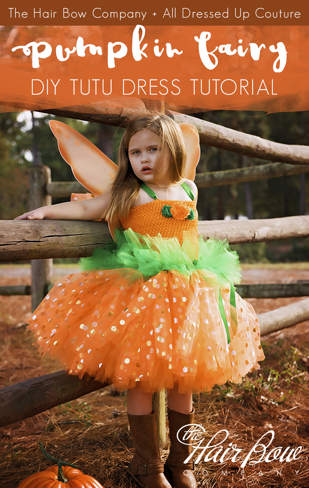 Blog autumn pumpkin fairy tutu dress diy tutorial solutioingenieria Images