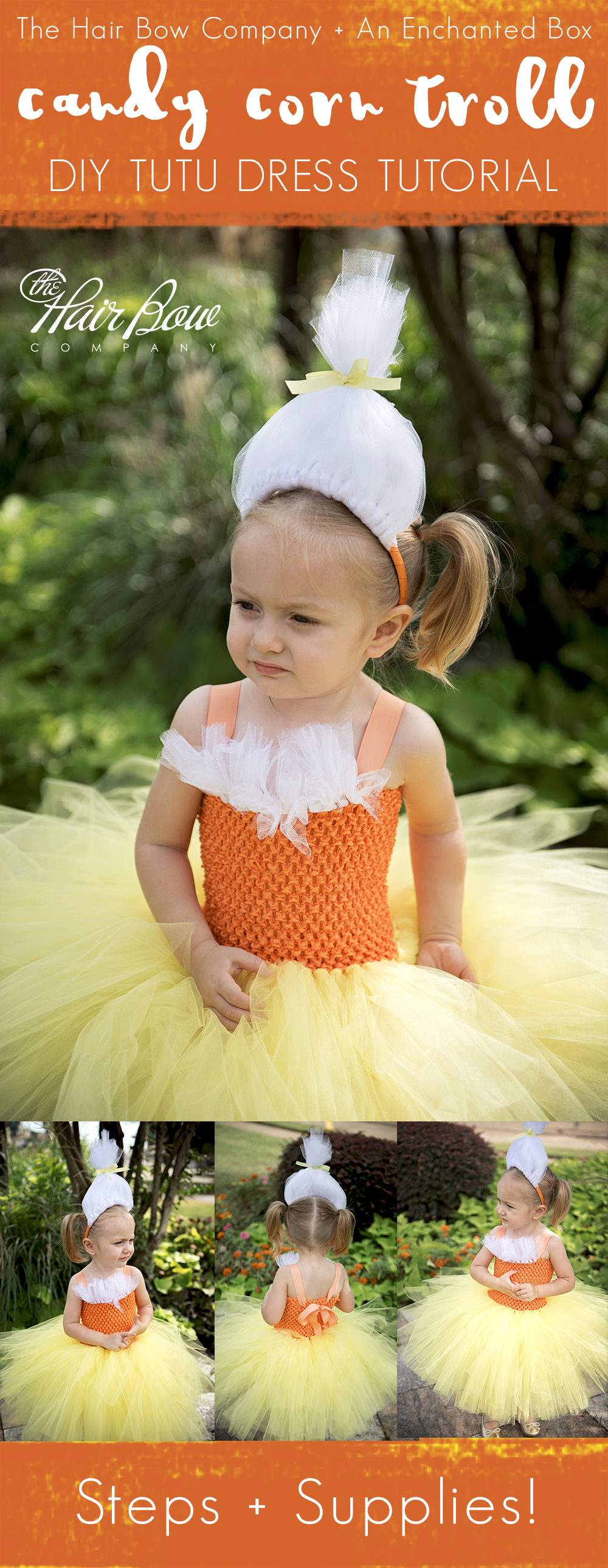 We are so excited to welcome back guest blogger Caitlin of An Enchanted Box on Etsy where you can find her charming tutus u0026 tutu dresses including darling ...  sc 1 st  The Hair Bow Company & Candy Corn Fairy Tutu Dress DIY Tutorial - The Hair Bow Company