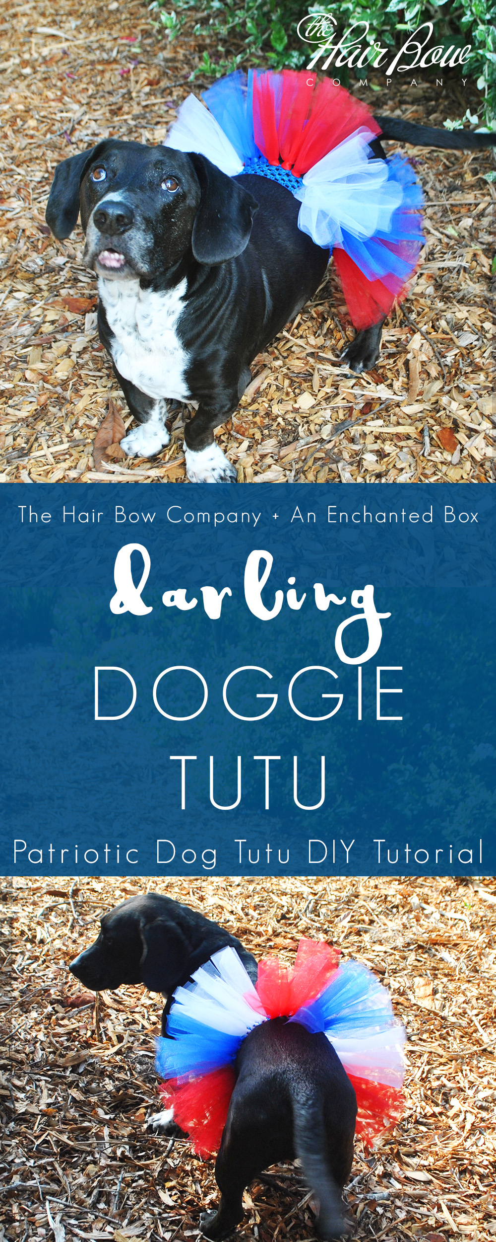 DIY dog tutu tutorial