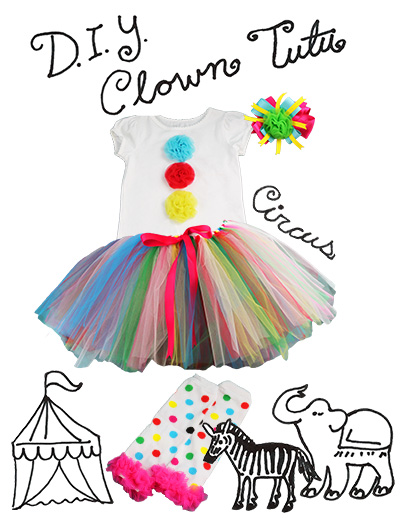 DIY Clown Costume  sc 1 st  The Hair Bow Company & DIY Clown Costume - The Hair Bow Company