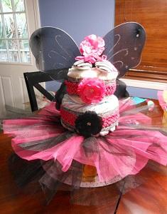 diy custom diaper cake